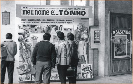 """Raro flagrante do lançamento de """"Meu Nome é Tonho""""."""